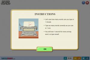 speed typing games