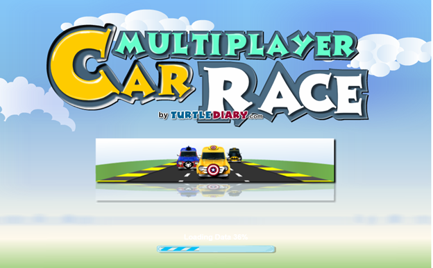 typing games race game