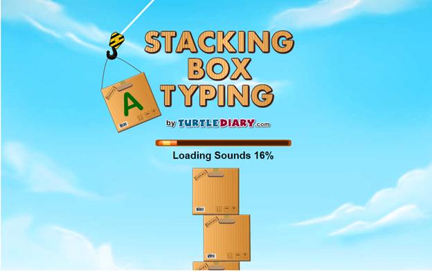 typing games kids online