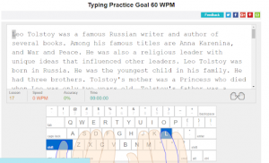 typing practice consistency